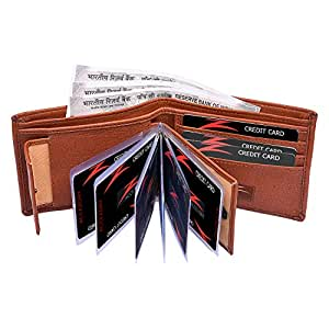 Accezory Brown Men's Wallet (LL507)