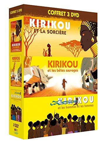 Coffret trilogie kirikou : kirikou et la sorcière ; kirikou et les bêtes sauvages ; kirikou et les hommes et les femmes [FR Import] -