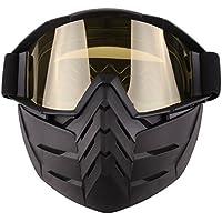 lokauf Máscaras de vasos para Nerf CS, amarillo