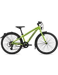 Orbea MX 24 Park pulgadas 7 velocidades MTB aluminio de montaña juvenil guardabarros de bicicleta infantil