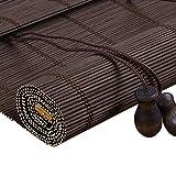 """PMTX-Bamboo curtain Tende a Rullo di bambù, Tende Tende di bambù Tende a Prova di Insetti, Balcone Salotto Sala da tè Tendine Parasole (Size : 90x200cm(19.6""""x78.7""""))"""
