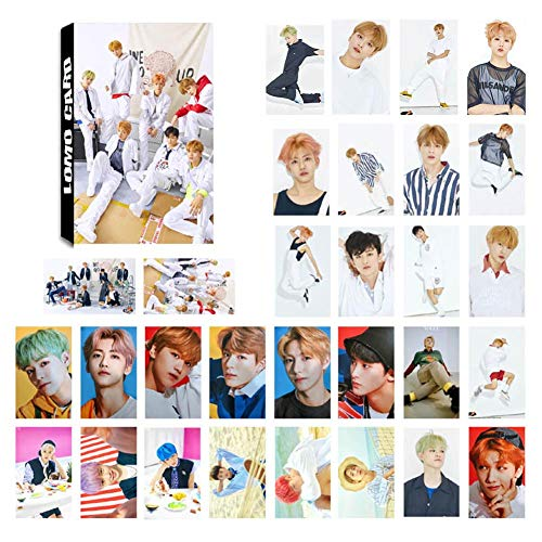 Christ For Givek Kpop NCT EMPATHY Lomo Cards NCT127 NCT Dream Photocard  Sticker Cards Set for NCT Fans, color I-30pcs