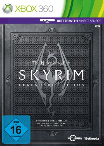 The Elder Scrolls V: Skyrim - Legendary Edition (Game of the Year) - [Xbox 360] - 360 Horror Xbox