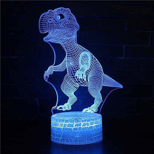Lámpara que cambia de Color Linda luz creativa de la Noche de la luz del Regalo en Blanco