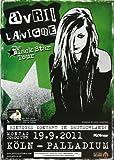 Avril Lavigne - Black Star 2011 - Konzertplakat, Konzertposter