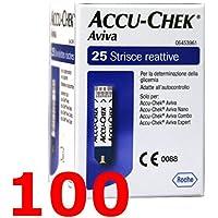 Preisvergleich für ACCU Chek Aviva - 100 Streifen reaktive für Test der Blutzucker - ACCU check