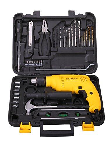 Stanley-SDH600-600-Watt-Impact-Drill-Kit-Yellow-35-Pieces