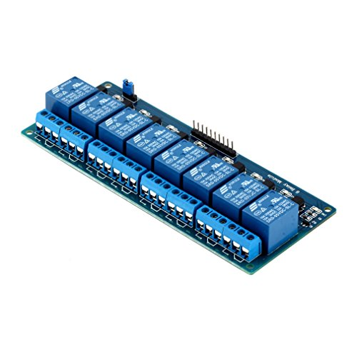 5V 8-Channel Relay Shield Module Board Optocoupler module  ARM PIC AVR New