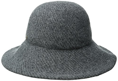 karen-kane-womens-boiled-wool-floppy-hat-charcoal-heather-one-size