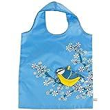 Eco Friendly Foldable Shopping bag - Blue Bird