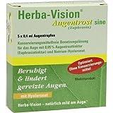 Herba-Vision Augentrost sine EDO Augentropfen, 5x0,4 ml