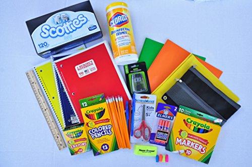 Posteriore a scuola elementare essential bundle compreso crayola crayon matite pennarelli
