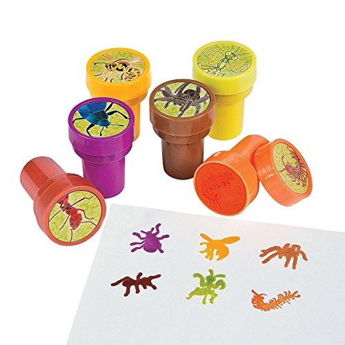6 x tolle Insekten Stempel Kinderstempel Insektenstempel Geburtstag Kindergeburtstag Mitgebsel Spinne Wespe Käfer Ameise Wurm Biene Gottesanbeterin