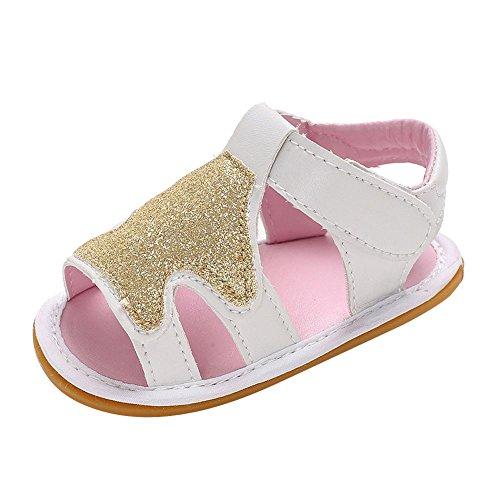Sllowwa Baby Kinder Sandalen Mädchen Jungen Freizeit Geschlossene Sandale Baby Sommer Sandaletten Kindersandale Schuhe Sandalen Kleinkind Turnschuhe Lässige Schuhe - Schaffell Baby Booties