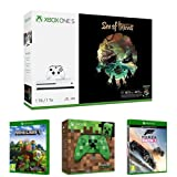 Xbox One S 1TB + Sea of Thieves + Controller Minecraft + Minecraft Pacchetto esploratori +...