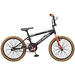 """Nueva 2016Rooster Big Daddy–Rueda de 20""""Freestyle BMX para bicicleta negro se envía con un libre cremallera Stix–Pack"""