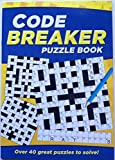 Code Breaker Puzzle Book with over 40 brain teasing puzzles to solve