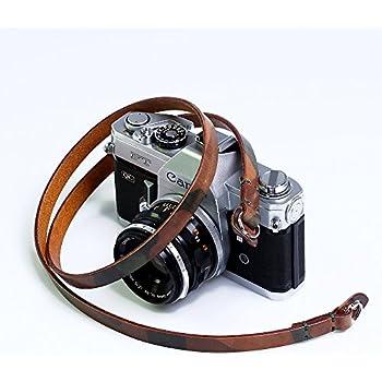 Fuji Bronkey Tokyo 104 120 cm - Leica vintage Tracolla universale per Sony Etc. Pentax Cinghia per macchina fotografica in Vera Pelle