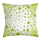 Best Chaises Office Star Patio - WCMBY Yellow Green Throw Pillow Cushion Cover, Abstract Review