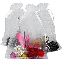 af8c30032 100 piezas, bolsas de organza extra grande 13 X 18 cm, bolsas de regalo
