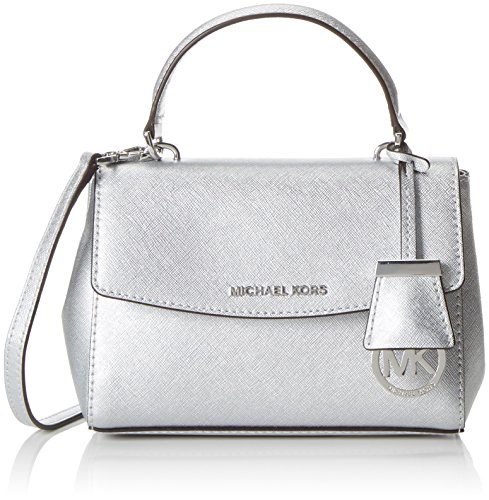 Michael Kors Ava Extra Small Tophandle, sac à main Argenté