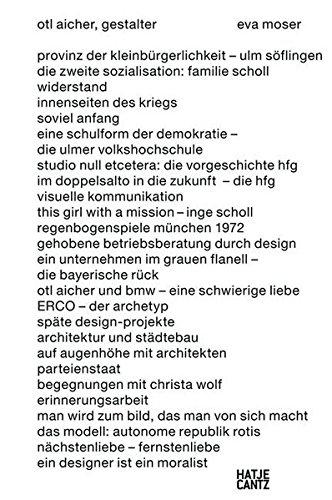 Otl Aicher: Gestalter Buch-Cover