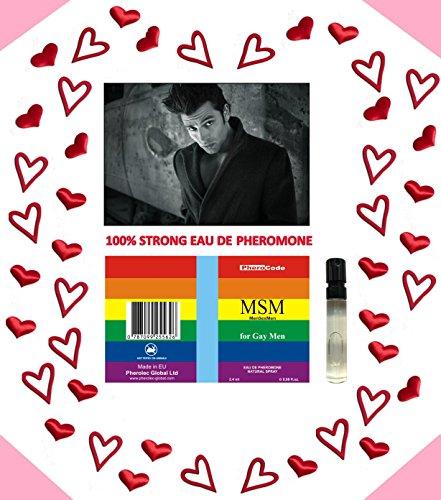 BESTE PHEROMONE PheroCode MSM 2,4ml 100% Stark für schwule Männer Gay Lockstoff (Starke Pheromone)