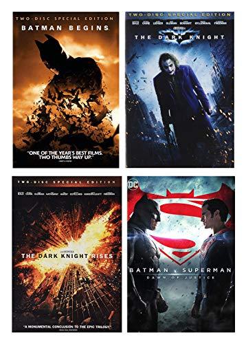 The Dark Knight Trilogy + Superman v. Batman: Dawn of Justice (Sammleredition mit 8 Scheiben