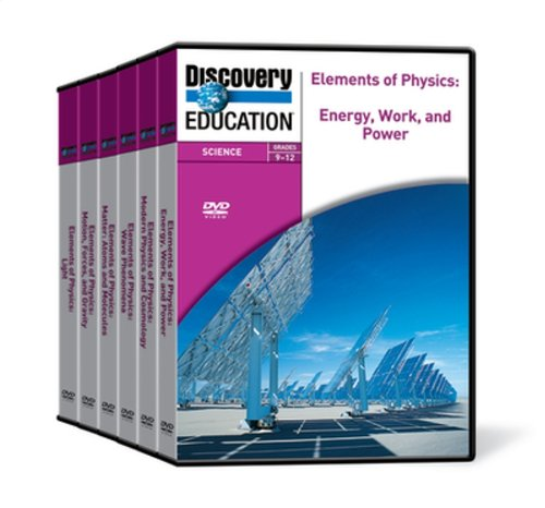 Discovery Education: Elements of Physics DVDs (Set of 6)