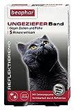 Beaphar 75424 Ungezieferhalsband für Katzen reflektierend
