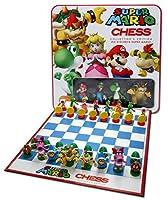 Universal Trends - Super Mario Chess - Ajedrez con figuras de Super Mario - Juego ajedrez Súper Mario 3D Edición Deluxe de Universal Trends