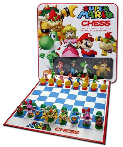 Universal Trends - Super Mario Chess - Ajedrez con figuras de Super Ma
