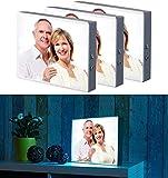 infactory Bilderrahmen: 3er-Set LED-Leuchtkasten für Bilder auf Folie & Papier, DIN A4-Format (Lightbox A4)