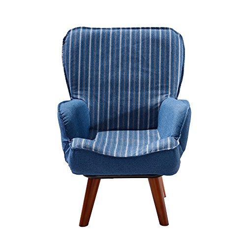 ZHANGRONG- Canapé pour enfants Mignon petit canapé chaise de lecture en 3 couleurs -Tabouret de canapé (Couleur : Bleu, taille : Chair)