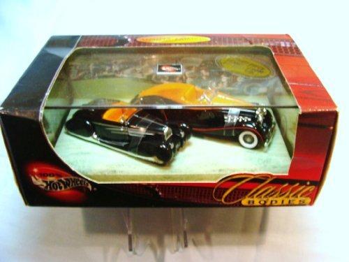 2004 100% Hot Wheels Preferred Classic Bodies Type 57C Bugatti Cabriolet & 1932/JS Duesenberg 2-Car Box Set