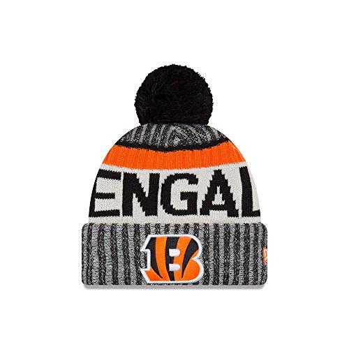 Cincinnati Bengals New Era 2017 NFL Sideline On Field Sport Knit Hat  Cappello - Black 194074a16c8d