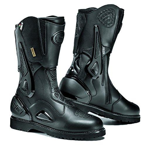 Sidi Armada GoreTex nero moto touring stivali + free calzini nuovo