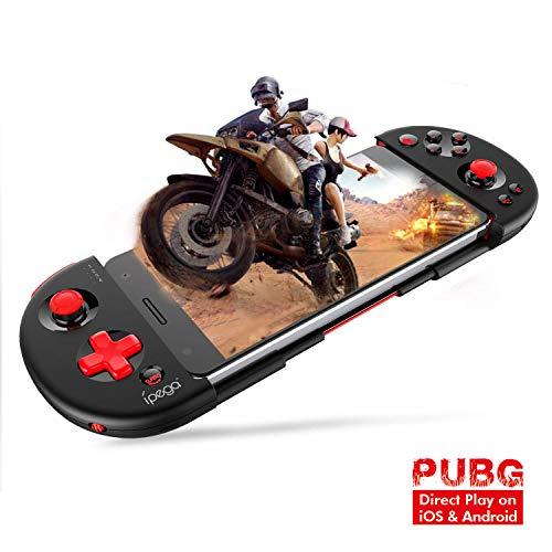 iPega PG-9087 Red Samurai Bluetooth Gamepad Controller per Giochi Supporto Estensibile Joystick Wireless Smartphone Fino a 6,2 Pollici Telecomando per Android/PC