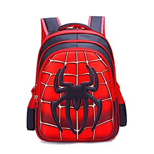 51LmO4u%2BYLL. SS300  - JIAN Mochila para Niños Anime Cartoon School Bag Impermeable Ligero Durable,A-M