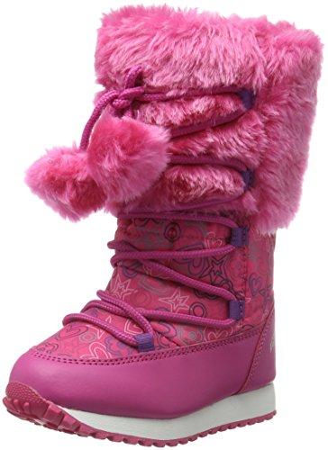 Agatha Ruiz De La Prada161996 - Stivali e stivoletti alti imbottiti caldi Bambina, Rosa (Pink (Fucsia)), 24