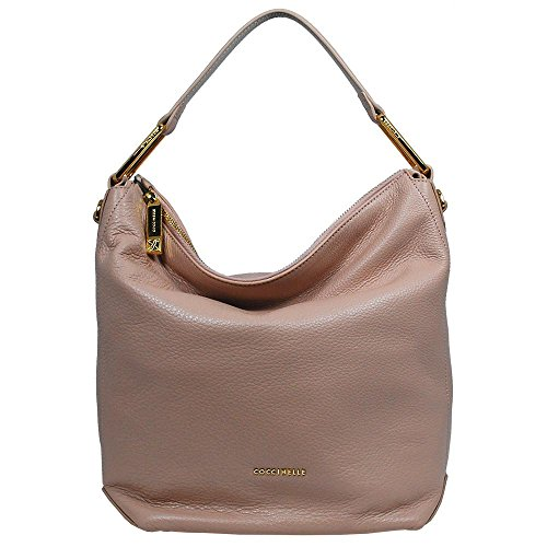 Schultertasche 1301 Coccinelle taupe Pivoine Liya dqEAwAap
