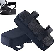 Buring Extra Thick Chair armrest Cushions Elbow Pillow Replacement Pressure Relief Office Chair Gaming Chair a
