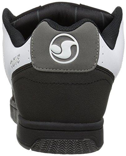 DVS Shoes Discord, chaussons d'intérieur homme Schwarz (Black Grey Nubuck)