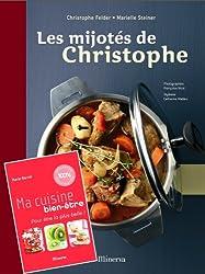 Les mijotés de Christophe + Ma cuisine bien-être : Pack 2 volumes