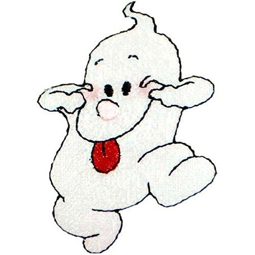 Expo International Halloween Silly Ghost Bügelbild Aufnäher Trim Verschönerungen, mehrfarbig