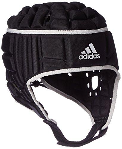 adidas Herren Rugby Kopfschutz Helm, Black/Matte Silver, L
