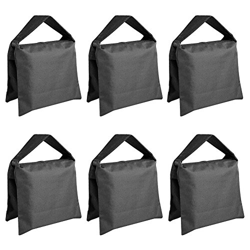 Neewer® 6 Pack Black Sand Bag Ph...