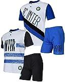 Pigiama corto ragazzo Internazionale Abbigliamento Inter calcio *24112 - PLANETEX - amazon.it