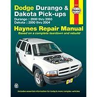 Dodge Durango & Dakota Pick-ups Automotive Repair Manual: Dodge Durango Models 2000 Thru 2003 / Dodge Dakota Models2000 Thru 2004