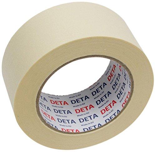Preisvergleich Produktbild DETA 116530 Profi Abdeckband/Kreppband, 50 mm x 50 m